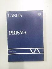 Manuale di assistenza tecnica e depliant Lancia Prisma