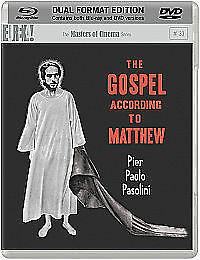 Masters Of Cinema - The Gospel According To Matthew - Blu-ray & DVD Combo 2 Disc