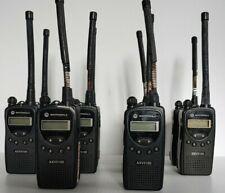 *Lot of 10* Motorola Axv5100 Radio w/ Batteries and Belt Clips