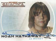 "Complete Battlestar Galactica - A4 Noah Hathaway ""Boxey"" Autograph Card"
