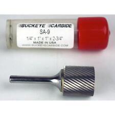 Carbide Burr (SA-9) Cylindrical - Single Cut - 1/4 x 1 x 1 x 2 3/4