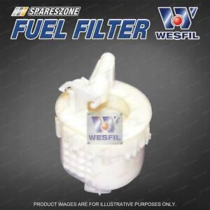 Wesfil Fuel Filter for Mitsubishi Outlander ZE ZF Petrol 4Cyl 2.4L