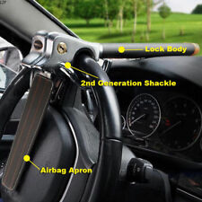 Anti Theft Lock Car Vehicle Top Mount Steering Wheel Security Airbag + 2 Keys UK