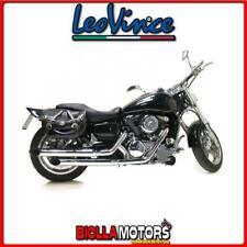 marmitta completa leovince kawasaki vn 1600 classic 2004- silvertail k02 acciao
