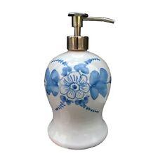 dosatore sapone liquido ceramica con erogatore cromo fnb