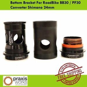 Praxis Works Bottom Bracket For RoadBike BB30 / PF30 Converter Shimano 24mm