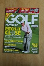Golf Monthly Magazine - October 2009 Pitch it close