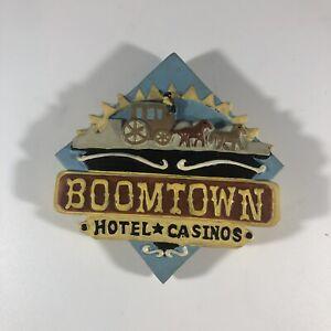 1960s-70s Boomtown Reno Nevada Casino Hotel Souvenir Magnet
