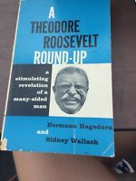 A Theodore Roosevelt Round-Up 1958 , First Edition  , Herman Hagehorn B4