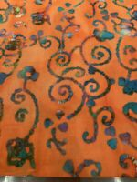 Boho Batik Cotton Fabric BTY