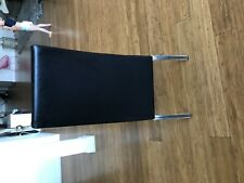 6 Faux Leather Black Dining room chairs