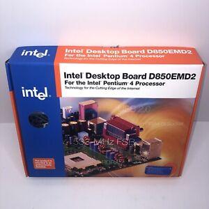 Motherboard Intel D850EMD2 Socket 478 +CPU +RAM