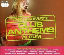 VARIOUS ARTISTS - THE ULTIMATE CLUB ANTHEMS NEW CD