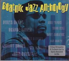BEATNIK JAZZ ANTHOLOGY - VARIOUS ARTISTS on 2 CD's - NEW -