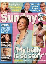 JADE GOODY  TV CELEBRITY -SUNDAY  MAG -28 MAY 2006