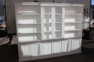 """Canberra"" Classic Integrated Wall Unit Bookshelf Bookcase Bookstand"
