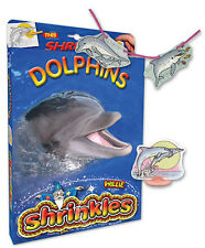 PERFORMING DOLPHINS SHRINKLES SHRINK ART BUMPER BOX SET CRAFT GIFT & PENCILS