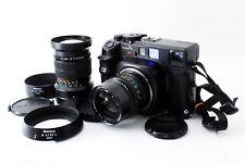 Mamiya 7 II Black Medium Format Rangefinder Camera W/N 65mm 150mm Lens Set Japan