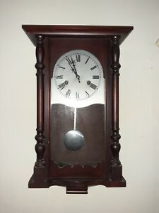 31 Day Pendulum Wall Clock 1980s