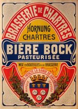 BIERE BOCK PASTUERISEE, France, date unknown, 250gsm A3 Poster