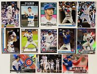 (13) 2019-2021 Topps Chicago Cubs Baseball Card Lot Kris Bryant Anthony Rizzo