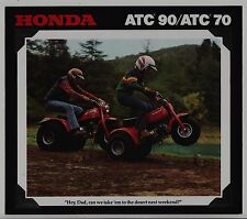 1978 HONDA ATC90 and ATC70 Original SALES BROCHURE Vintage ATC 3-Wheeler