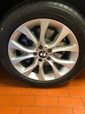 "BMW OEM FACTORY ORIGINAL STYLE 450 X5 & X6 19"" WHEEL/TIRE/TPMS & CENTER CAPS"
