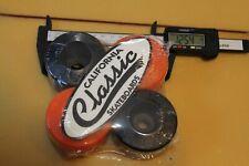 Wizards 64mm Multi-Color Bones Sims Vision W1 Vintage Set 4 Skateboard Wheels