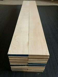 Planned All Round Maple Timber Offcuts 5/10/20 pieces. Various sizes.