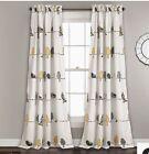 Lush+Decor+Rawley+bird+curtains