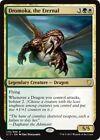 DROMOKA, THE ETERNAL Commander 2017 MTG Gold Creature — Dragon Rare