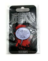 SDCC 2018 Yesterdays Collectible Enamel Pin The Walking Dead Negan Quote