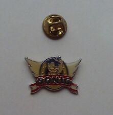 Sega SONIC the Hedgehog WINGS Logo t3 MINT Vintage Enamel METAL PIN BADGE Pins