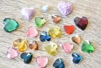 VEG4 Orange 200pcs 4x6mm Pearl Teardrop Flatback Rhinestones Jewels Beads
