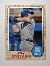 2017 Topps Heritage Minors Base #108 Ryan O'Hearn - Omaha Storm Chasers