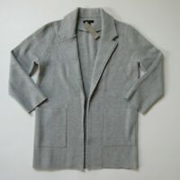NWT J.Crew 365 Sophie in Heather Gray Open-Front Sweater Blazer Cardigan S $148