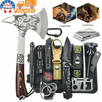 Camping Axe Survival Kit Outdoor Tactical Hunting Hatchet Gear EDC Emergency Set