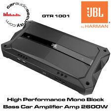 JBL gtr-1001 - ALTE PRESTAZIONI MONO blocco Bass AMPLIFICATORE AUTO AMP 2600W