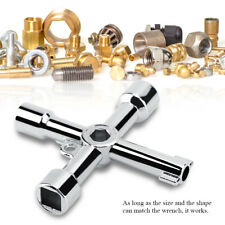 Cross Round Hole key Triangular Wrench for Electrical Control Cabinet Elevator