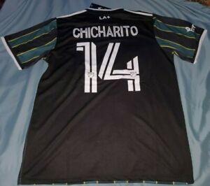 Chicharito # 14 LA Galaxy Adidas Men's Away Jersey 2021
