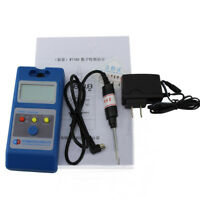 WT10A LCD Tesla Meter Gaussmeter Surface Magnetic Field Tester W/ Ns Function US