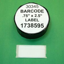 6 Rolls  BARCODE LABEL fit DYMO 1738595 / 30345 - BPA Free