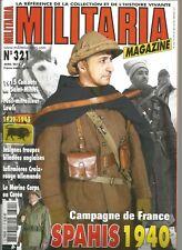MILITARIA N°321 SPAHIS 1940 / 1915 COMBATS DE ST-MIHIEL /FUSIL-MITRAILLEUR LEWIS
