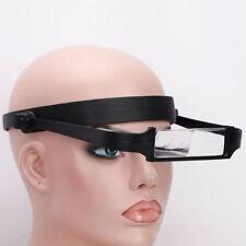 1.6x 2.0x 2.5x 3.5x Head Headband Replaceable Lens Loupe Magnifier Magnify  UK
