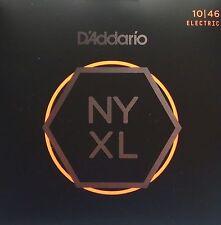 10 Sets! D'Addario NYXL1046 NY XL Electric Guitar Strings Ships free in US NYXL
