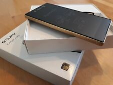 Sony Xperia Z5 32GB - Gold / simlock- und vertragsfrei / komplett foliert