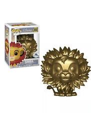 The Lion King POP Disney Simba Exclusive Vinyl Figure 302 [Gold, Leaf Mane]