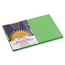 Sunworks Construction Paper 58 lbs. 12 x 18 Bright Green 50 Sheets/Pack 9607