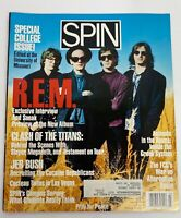 1991 MARCH SPIN MAGAZINE - R.E.M. COVER - GREAT PHOTOS - GREAT ADS
