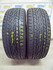 2X 255 70 16 255/70/16 CONTINENTAL CROSS CONTACT LX2 111T TYRES 6MM 6.20MM